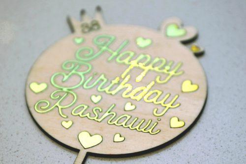 Happy Birthday Rasha 2