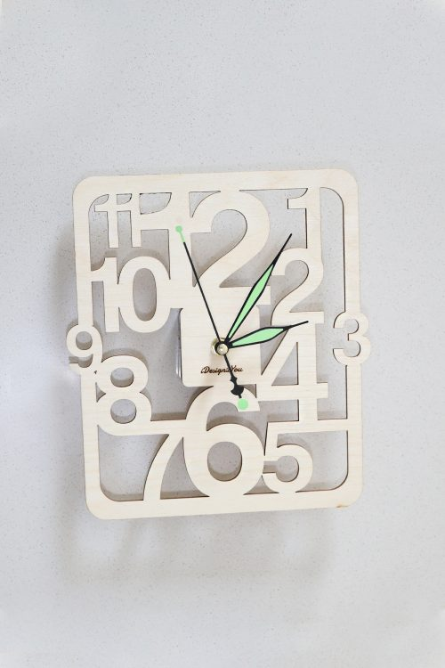 Numbers Wall Clock : ...